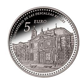 moneda-Reales-Sitios-de-Patrimonio-Nacional-monasterio-de-las-descalzas-reales