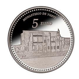moneda-Reales-Sitios-de-Patrimonio-Nacional-monasterio-de-yuste