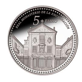 moneda-Reales-Sitios-de-Patrimonio-Nacional-real-monasterio-de-la-encarnación