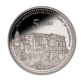 moneda-Reales-Sitios-de-Patrimonio-Nacional-real-monasterio-de-santa-clara-de-tordesillas