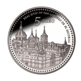 moneda-Reales-Sitios-de-Patrimonio-Nacional-san-lorenzo-de-el-escorial