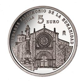 moneda-ciudades-patrimonio-de-la-humanidad-avila